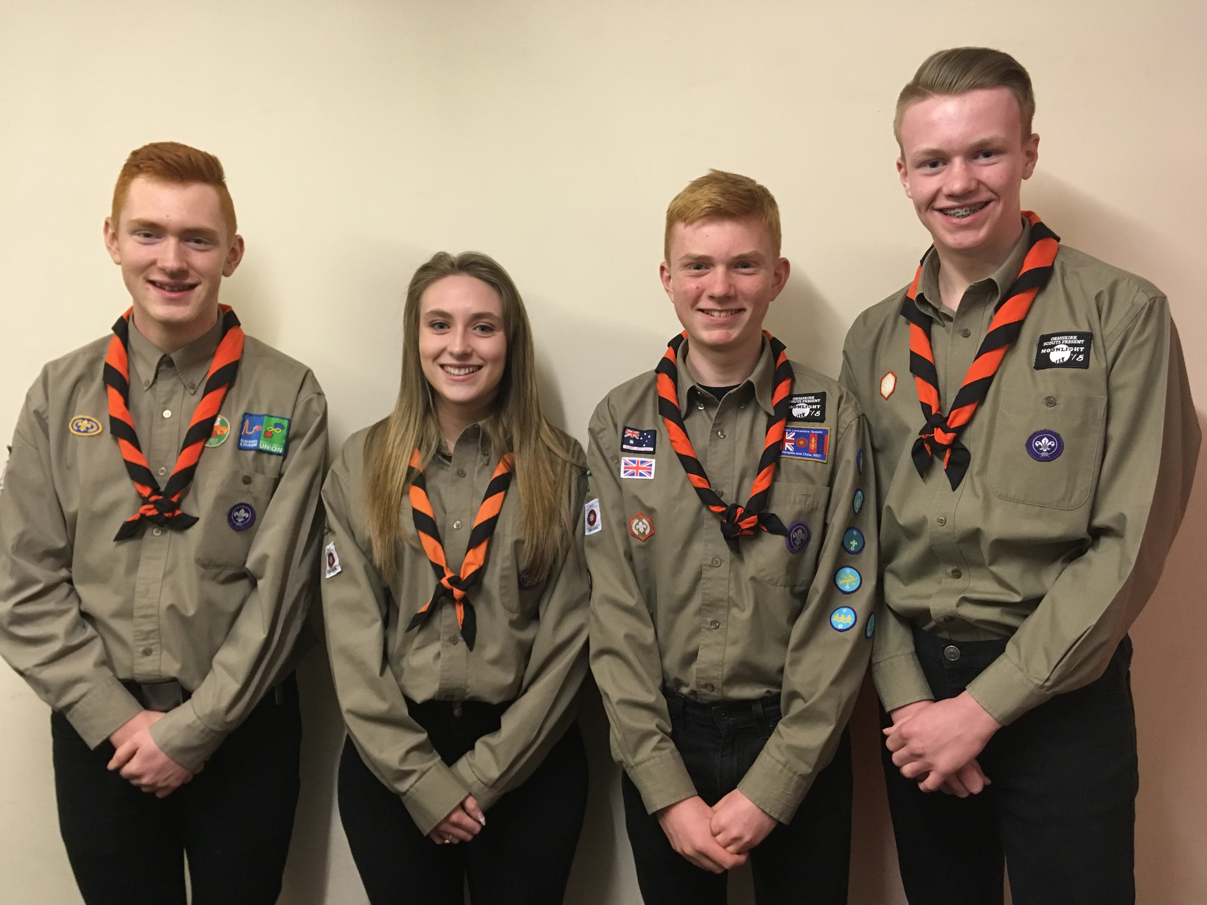 Blackpool Scouts selected to attend the 24th World Scout Jamboree