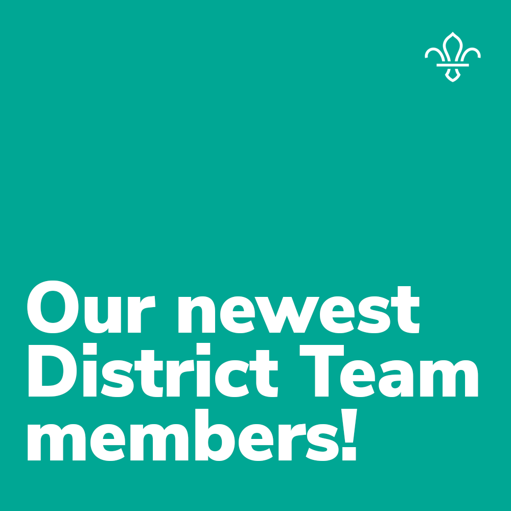 Our newest District Team members