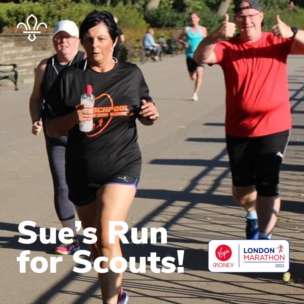 Sue Run For Scouts